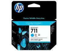 Original & Boxed HP711/CZ134A 3X 29ML Cartucho de tinta Cian-con rapidez publicado