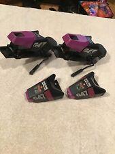 Women's Geze Sport Ski Bindings G47 Step Matic Purple Black Must See