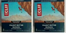 Cliff Peanut Butter Banana With Dark Chocolate Energy Bar - WHOLESALE PACK OF 2