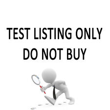 For Test Listing Only Do Not Buy