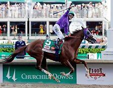 CALIFORNIA CHROME 2014 KENTUCKY DERBY WINNER HORSE RACING 8X10 PHOTO