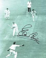 Brian CLOSE Signed Autograph 10x8 ENGLAND Cricket Action Photo AFTAL COA