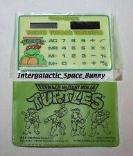 1990 TMNT Teenage Mutant Ninja Turtles Fan Club Only Calculator Tabulator MIP