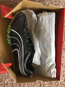 PUMA 184450 02 Men's Complete TFX Sprint 2 Track Shoes Blk/Jasmine/Green/Wht 12