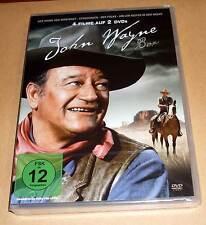 DVD John Wayne Box - 4 Filme: Stagecoach + Der Falke + Höllen Reiter ... Neu OVP