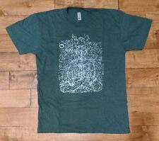 Zenthreads Men's American Apparel Yoga Meditation T-Shirt (Green) M