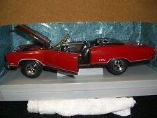 1/18 ERTL 1969 Plymouth GTX conv. Red with black interior