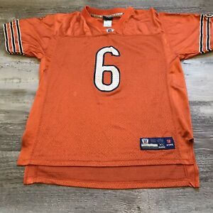 JAY CUTLER  Chicago Bears Onfield REEBOK NFL Equipment JERSEY Youth XL  Orange