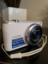 Samsung WB Series WB350F 16.3MP Digital Camera - White