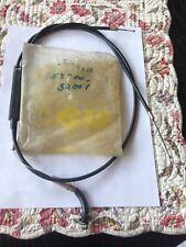 SUZUKI THROTTLE CABLE TS400 NOS!