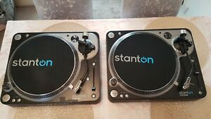 STANTON T.92 DIRECT DRIVE TURNTABLES DECKS USB RECORDING SOFTWARE IMMACULATE