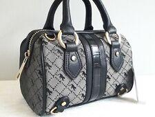 TOPSHOP Grey Madrid Croc Animal Print Mini Bowler Bag BNWT