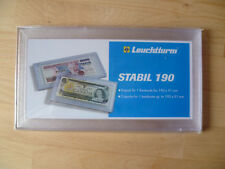1 LEUCHTTURM Banknotenkapsel STABIL 190 NEU&OVP 3
