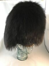 British Military Red Guards Bearskin Busby Good Condition, Chinstrap