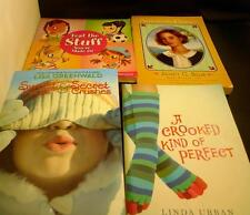 Lot 4 Books Paperback Sweet Treets A Crooked Kind of Perminant American Diaries