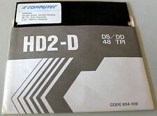 "COMPUTEC SINGLE MD-2DD DOUBLE DENSITY 5.25"" 48 T.P.I. FLOPPY DISKS UNUSED"