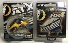 HeadBlade ATX HB4 Razor Blade Head Shaver Body Face All Terrain + HB4 Refill PK