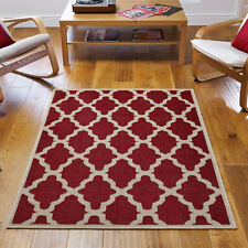 Flat weave Anit Silp Kitchen hall Rug & Runner mat gel backing washable cheap