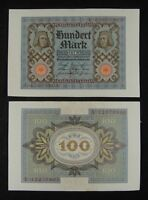 Germany Early Banknote 100 Mark 1920 Almost Uncirculated