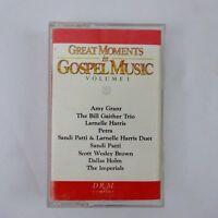 Great Moments in Gospel Music Cassette Various Artists