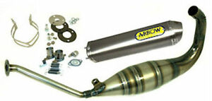 Aprilia RS 125 1999-2012 Arrow Full Power Road Approved Exhaust System Titanium