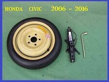 "2005-2017 Honda Civic Space Saver Spare Wheel 15"" Tyre+ JACK & SPANNER"