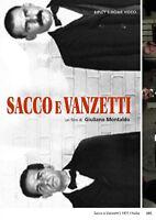 SACCO E VANZETTI  DVD DRAMMATICO