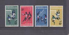 RWANDA-1966-YOUTH SPORTS-PART SET-SG 162-165-MINT-HINGE REMAINS-$3-freepost