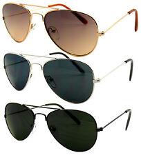 Wholesale Lots Kids Toddler Boys Girls Aviator Pilot Metal Frame Sunglasses