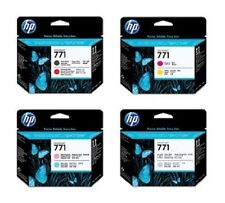 4 x Cabezal de impresión HP Designjet Z6200/Nr. 771 CE017A CE018A CE019A CE020A