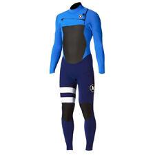 New $280 Men's Hurley Fusion 302 Wetsuit 3/2MM FullSuit Blue Sizes S MS M LT XL