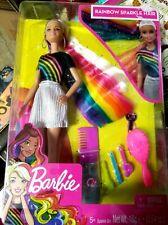 Barbie Rainbow Sparkle Hair Doll Playset