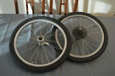 "Birdy foldingbike wheels wheelset 18"" folding bike bicycle"
