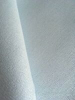 Ice Blue  Brittney Lugana 28 Count Zweigart even weave fabric - size options