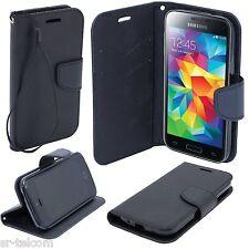 Buch Book hülle Cover Case Handy Tasche Etui für Sony Xperia L1 Fancy schwarz