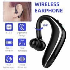 New listing Single Earphone Wireless Bluetooth Earbud Headset For iPhone Samsung Android