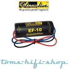 SinusLive EF-10 Entstörfilter Autoradio 10 Ampere Radio KFZ Filter Massefilter