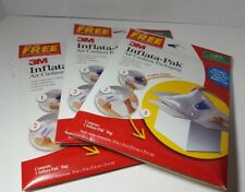 3m inflata-pak 3 packs of  Large Size! 3 Total!