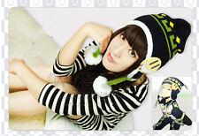 Anime DRAMAtical Murder DMMd Noiz Warm Knitted Beanie Hat Cap Cosplay with Badge