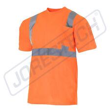 78a437cd5d2816 Hi Vis T Shirt ANSI Class II Reflective Safety Orange Short Sleeve  VISIBILITY