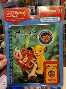 Lector Magico Disney El REY LEON Story Book Reader  Rare  NEW LION KING