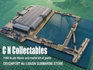 HM Dockyard Devonport SUBMARINE Factory Basin 3  Very detailed KIT.