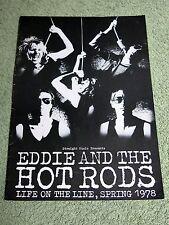 EDDIE & THE HOT RODS Spring 1978 UK Tour Programme!