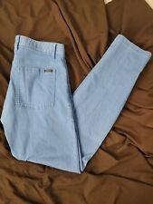 Oakley blue denim slim fit jeans mens size 33x32