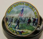 First Battle Of Bull Run ~ Civil War ~ 2012 Colorized JFK Kennedy Half Dollar  for sale