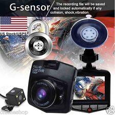 2.4'' Full HD 1080P Car DVR Vehicle Camera Video Recorder Dash Cam G-sensor USAA