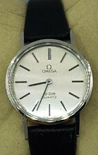 Omega Ladies De Ville Quartz Swiss Made Watch Cal 1351 Ref 591.044