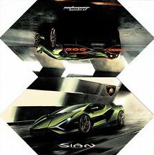 Lamborghini Sian car_Frankfurt IAA 2019_ Pressemappe-Prospekt/ Presskit-Brochure