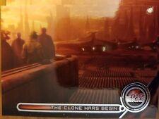 Star Wars Galactic Files Reborn GM-9 The Clone Wars Begin Galactic Moments