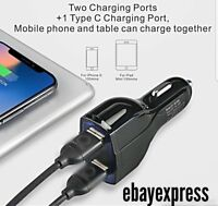 New 15W Fast Charge In Car Charger+Cable for Samsung Galaxy S8/S9/Plus A3 A5 A7
